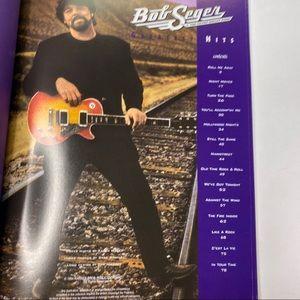 Vintage Accents - Vintage Bob Seger Sheet Music Bass Book Hits